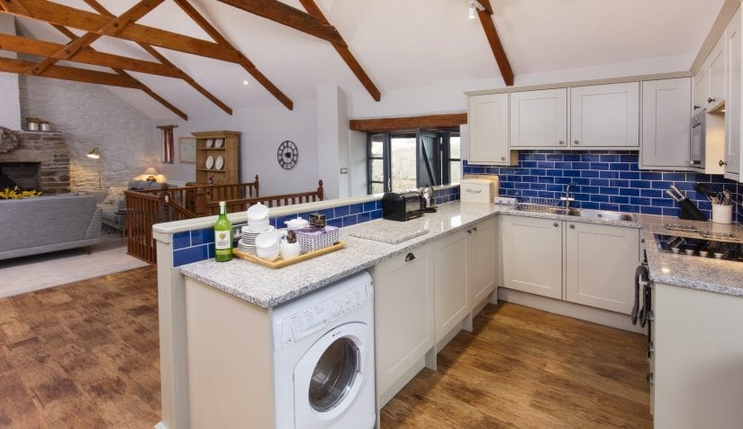 Kitchen at Tredethick