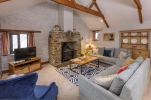 Living Room at Tredethick