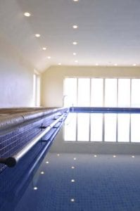 Heated Pool at Tredethick