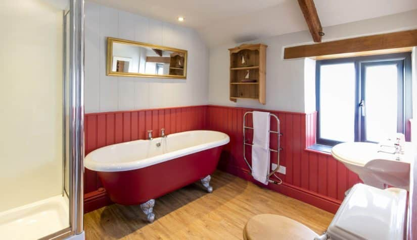 hayloft bathroom