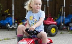 Tractor Rides at Tredethick