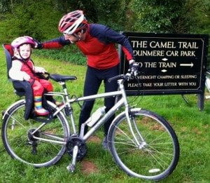 Bike rides on the Camel Trail