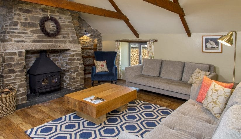 Hayloft living room