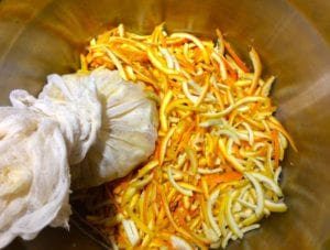 Marmalade making at Tredethick