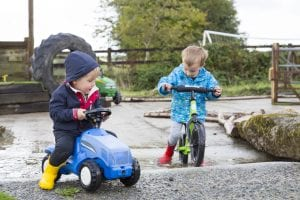 Balance Bike Trail at Tredethick