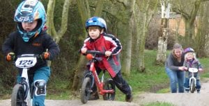 Balance Bike Rides at Tredethick